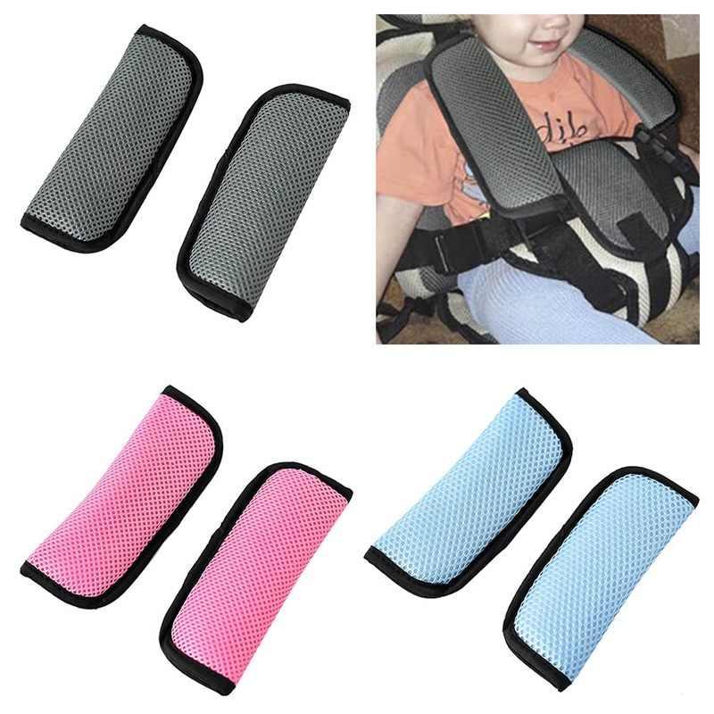 2 шт./пара автомобильное детское безопасное сидение ремня безопасности с наплечной подушкой безопасности ремень плечевой ремень крышка автомобильные аксессуары