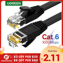 Ugreen kabel Ethernet Cat6 przewód Lan UTP CAT 6 RJ 45 kabel sieciowy 10m 50m 100m Patch Cord do laptopa Router RJ45 kabel sieciowy tanie tanio NW102 NW115 NW117 Rohs CN (pochodzenie) Ethernet cable Lan cable Cat6 cable Cat 6 cabe RJ45 cable Cable ethernet Cable internet