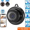 HD мини скрытая Wifi камера облако аудио беспроводная домашняя камера безопасности CCTV видеонаблюдение Невидимая камера ночного видения IP кам...