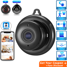 цена на HD Mini Hidden Wifi Camera Cloud Audio Wireless Home Security Camera CCTV Video Surveillance Invisible Night Vision IP Camera