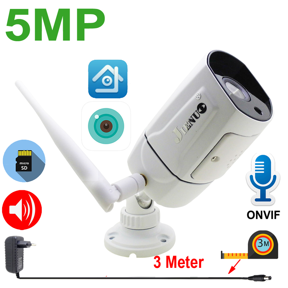5MP IP Camera Wireless 64G Cctv Two-way Audio Security Surveillance Outdoor Waterproof Home Cam Infrared Night Wifi XMeye ICSee