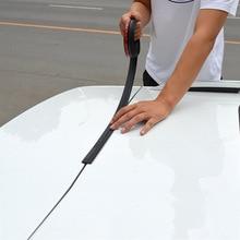 אוניברסלי DIY 1.6m רכב Trunk כיסוי קצה חותם רצועת עבור SUV MPV Hatchback רכב גומי Weatherstrip איטום מדבקה אוטומטי אבזר