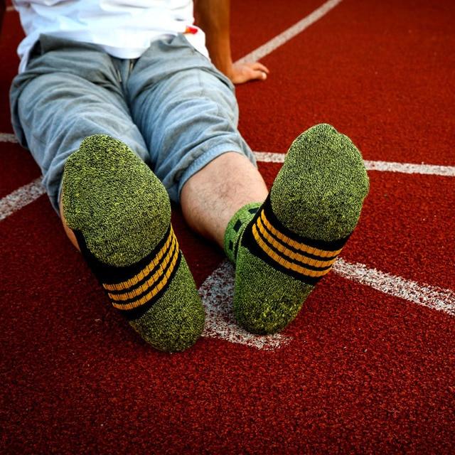 Тёплые зимние мужские носки с начёсом 5