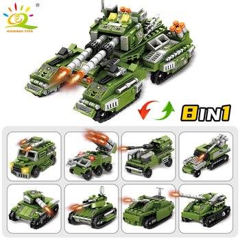 """Конструктор HUIQIBAO """"Военный танк"""", 8 в 1 2"""