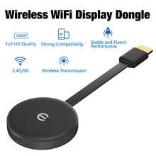 Adaptador receptor de vídeo inalámbrico para TV, Dongle con pantalla WiFi 1080P para Miracast, Airplay, Android IOS, PC, TV, compartir pantalla