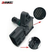 4Bar Manifold Intake Air Pressure sensor MAP Sensor 80018383 5WK96841 2045431 5WY2833A For 405 Kia Pride Citroen