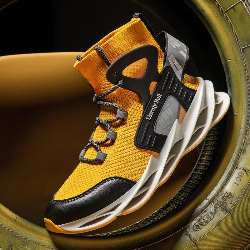2020 New Men Shoes Casual Shoes Men Fashions Male Mesh Shoes Men Sneakers Big Size 39-47 Zapatillas Hombre Blade Shoes Male
