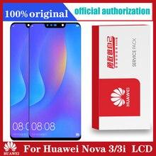 מקורי 6.3 LCD עבור Huawei נובה 3i LCD תצוגת מסך מגע Digitizer הרכבה Huawei נובה 3 LCD