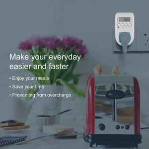 Image 4 - KEBIDU cyfrowa energia ue oszczędzanie energii Timer programowalne elektroniczne gniazdo czasowe Timer sprzęt agd do urządzeń domowych