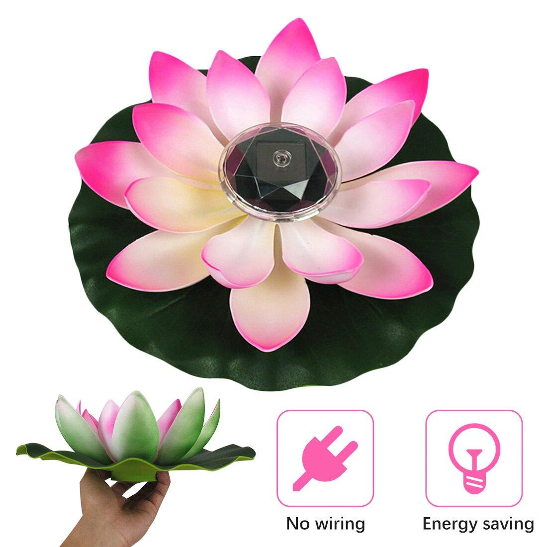flor de lotus forma lagoa lanterna luz 04