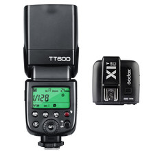 TT600 Camera Flash Speedlite Master Slave Off GN60 Built-in 2.4G Wireless X System Transmission For Canon Nikon Pentax Fuji DSLR