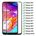 Tempered Glass For Samsung Galaxy A01 A11 A21 A31 A41 A51 A71 Screen Protector Glass A21S M11 M21 M31 A30 A50 Protective Glass