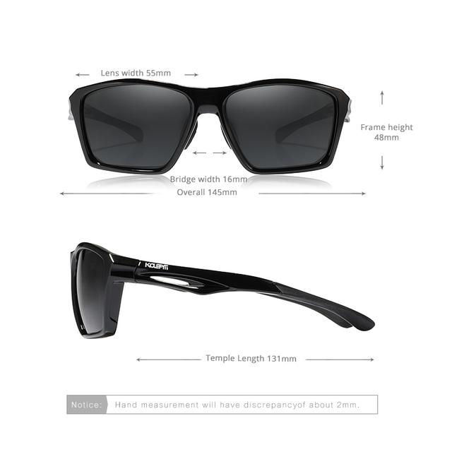 Unisex Impact Resistant TR90 Sport Sunglasses