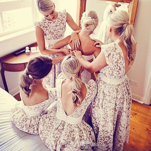 Купить с кэшбэком Cap Sleeves A Line Hi Lo Evening dress Wear Elegant 2019 Jewel Neck Prom Dresses Junior Party Gown robe de soiree formal dress