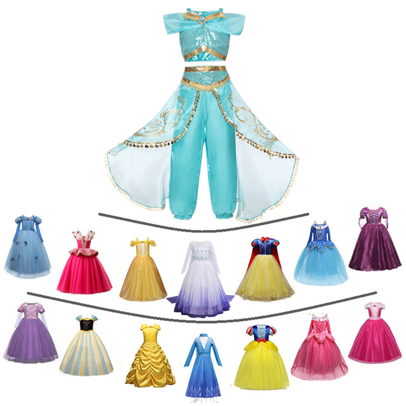 Girls Fairy Princess Costume Beauty Kids Dress Halloween Cosplay Costume Children Party Disfraz Robe Dress Up 1