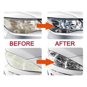Image 5 - Visbellaヘッドライト修復キットポリッシュヘッドランプ光沢剤diy車のヘッドライトランプレンズディープクリーンヘッドライトペースト最高1