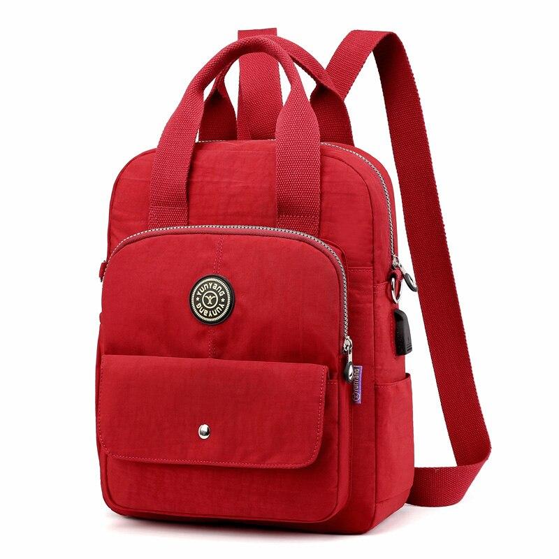 Newborn Baby Nappy Bags Mummy Diaper Bag Stroller Bag Maternity Backpack USB Portable Waterproof BXY029