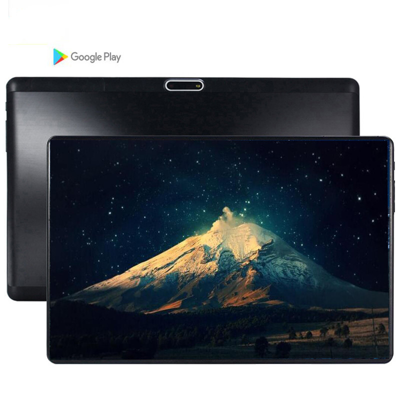 64G MT6753 10.1' The Tablet Android 9.0 8 Core 6GB + 64GB  ROM Dual Camera 5MP SIM Tablet PC Wifi Mirco Usb GPS Bluetooth Phone