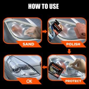 Image 4 - Refit Headlight Restoration Light Polisher Kit Polished Headlight kit Car Wax Polish Auto Wax Detailing Car Sanding Polishing