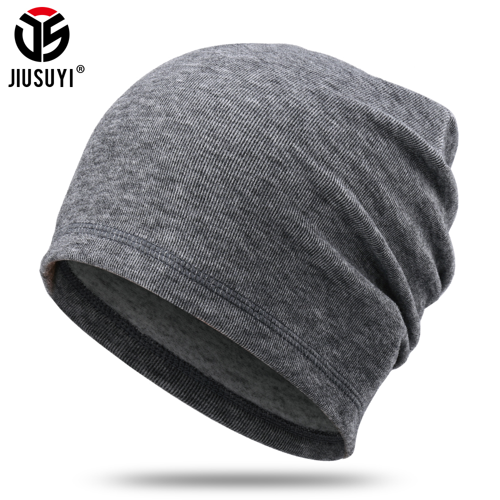 New Beanies Winter Skullies Thermal Warm Cap Running Bluetooth Hat Snowboard Stretch Soft Black Cycling Skiing Hip Hop Men Women