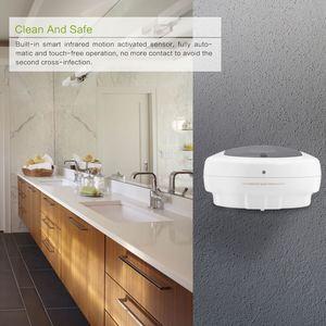 Image 5 - 450ml קיר רכוב נוזל אוטומטי סבון Dispenser ABS אביזרי אמבטיה חיישן Touchless Sanitizer forKitchen