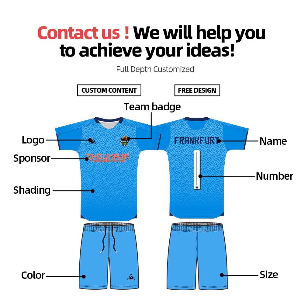 2020 футбольная Джерси быстросохнущая Мужская спортивная одежда