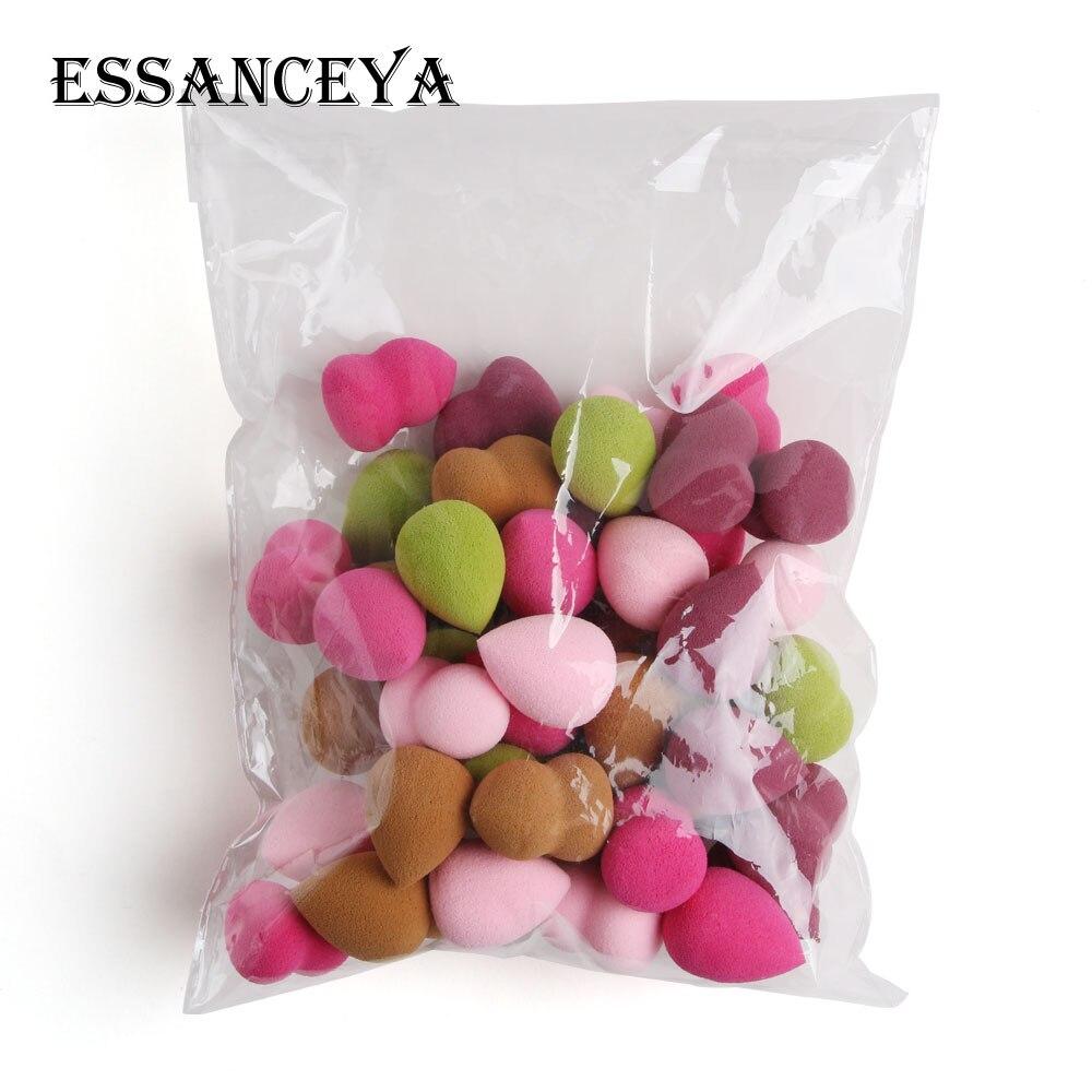 ESSANCEYA 10/20 Pcs Pro Makeup Sponge Mini Cosmetic Puff For Foundation Concealer Cream Soft Sponge Make Up Tools Wholesale