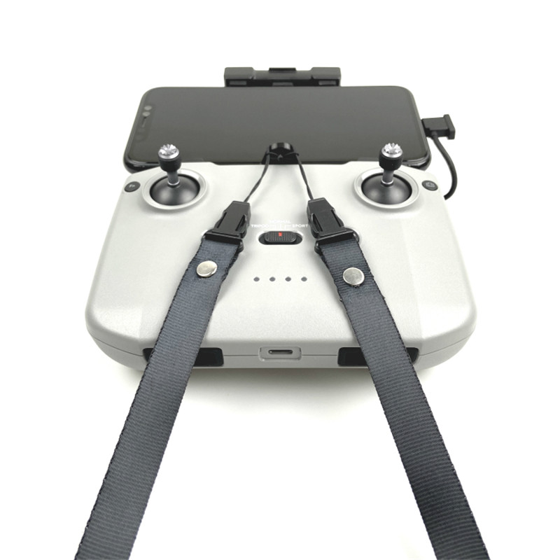 nuevo correas Placa de cinturón//fijación para DJI Mavic air 2 transmisores Lanyard