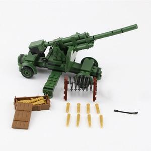 Image 3 - NEW WW2 Military German Army Soldier Figures Blocks Toys Typ 82 Kubelwagen Weapons Accessories Blocks Bricks Toys for Children