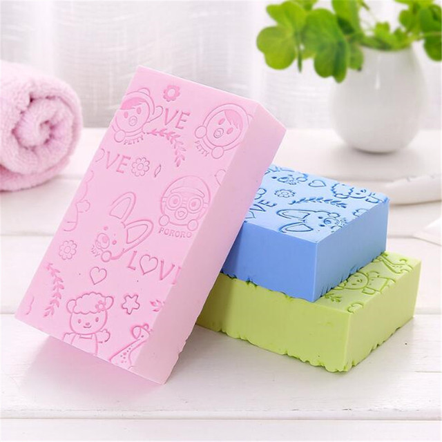 Soft Body Scrubber Bath Exfoliating Sponge Shower Brush Skin Cleaner Cleaning Sponge Pad Body Dead Skin Remover Bathing Supplies 3