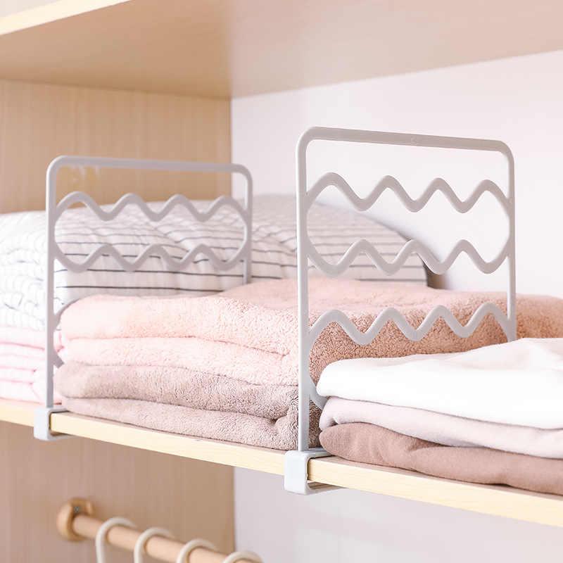 8Pcs ตู้เสื้อผ้าพาร์ทิชัน Dispenser ปรับตู้เสื้อผ้าพาร์ทิชันห้องครัวตู้เสื้อผ้าพาร์ทิชัน Dispenser