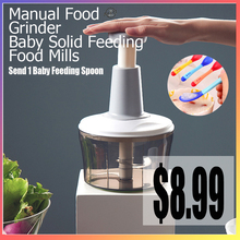 Vegetable-Cutter Cooking-Machine Food-Mills Baby Meat-Grinder Feeding-Tools Manual New