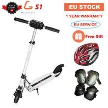 [Европейский запас] KUGOO S1 складной электрический скутер 350 Вт 30 км/ч 30 км/ч мотор с ЖК-дисплеем 8,5 дюймов взрослый скутер для Xiaomi m365