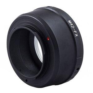 Image 4 - M42 anneau adaptateur dobjectif M42 adaptateur dobjectif à monture à vis M42 FX M 42 objectif pour Fujifilm X Mount anneau adaptateur dappareil photo