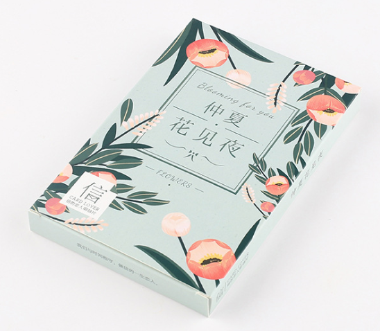 P9- Night Leaf Paper Postcard(1pack=30pieces)