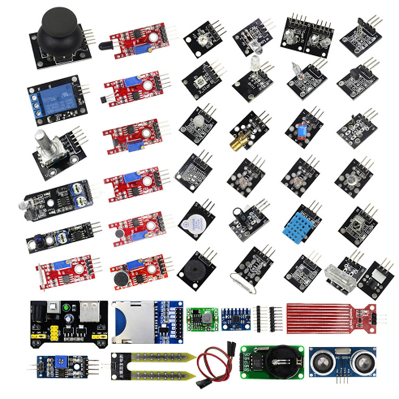 45 In 1 Learning Sensor Kit Sensors Modules Starter Kit  For Arduino