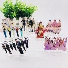 Kpop TXT IZONE Blackpink Twice Acrylic Stand Action Figure Doll Seventeen GOT7 S