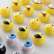 4Pcs Universal Motorbike Car Tire Valve Cap Wheel Dust Covers Funny Yellow Smile Face Ball Car Styling Tire Valve
