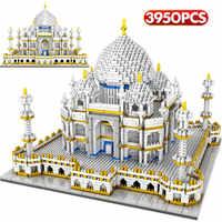 LOZ Mini Blocks World Famous Architecture Taj Mahal 3D Model Building Blocks 3950 Pcs Bricks Creator Educational Toys for Kids