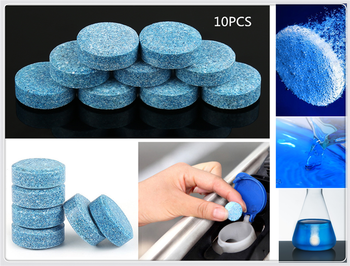 Wiper fine car glass water concentrated detergent effervescent tablets for Porsche Macan Cayenne 911 Panamera Mission image