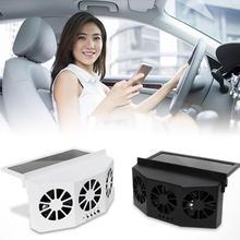 Вентилятор для автомобиля, вентиляция на солнечной батарее, три капота, автомобильный вытяжной вентилятор, радиатор, подогреватель на солн...