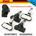4 Pcs New Genuine per Bmw Rdci Sensore di Pressione Dei Pneumatici 36106798872, 36106874830, 36106890964