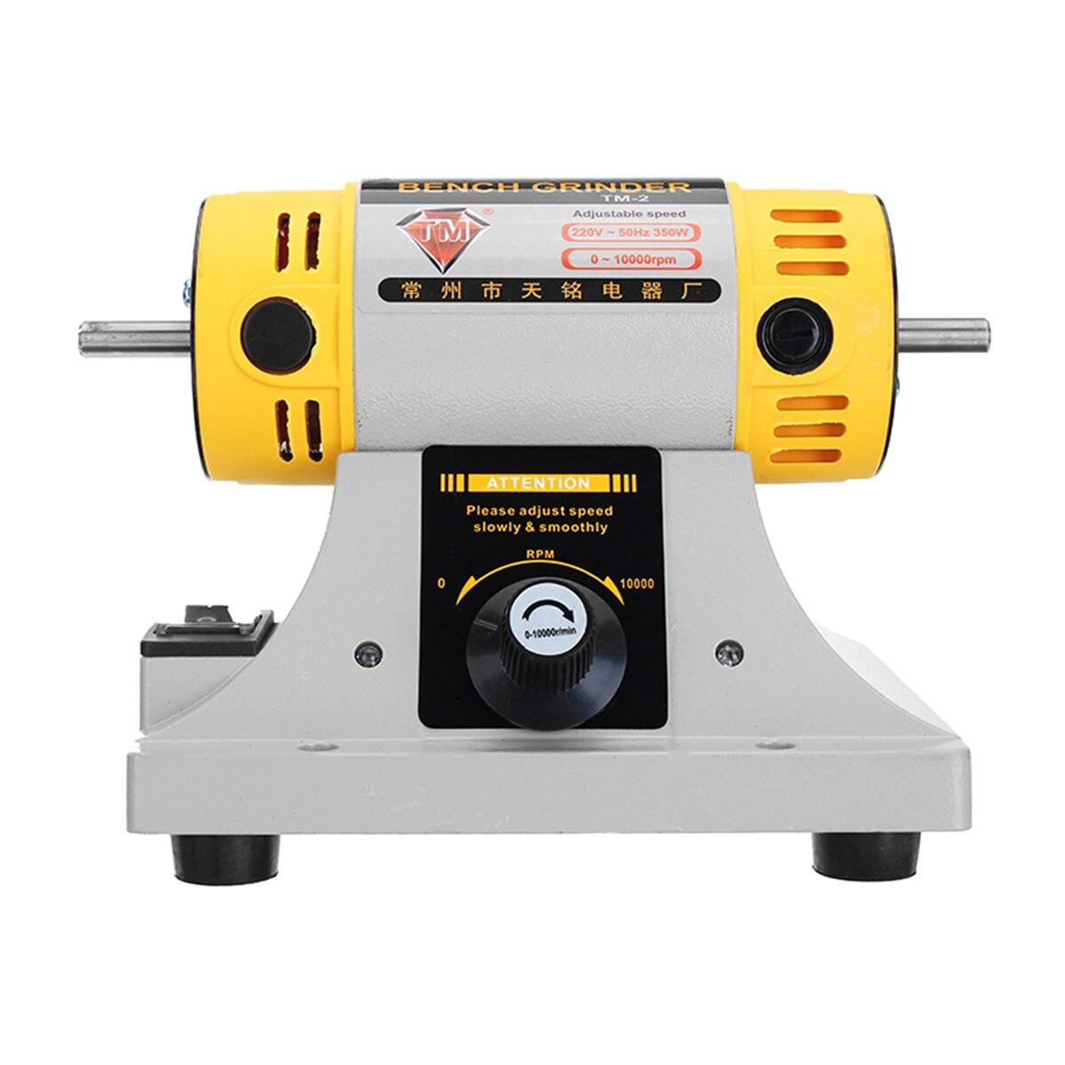 350W 220V Multi-zweck Mini Benchs Grinder Polieren Maschine Kit Für Schmuck Dental Schmuck Motor Drehmaschine Benchs grinder Kit Set