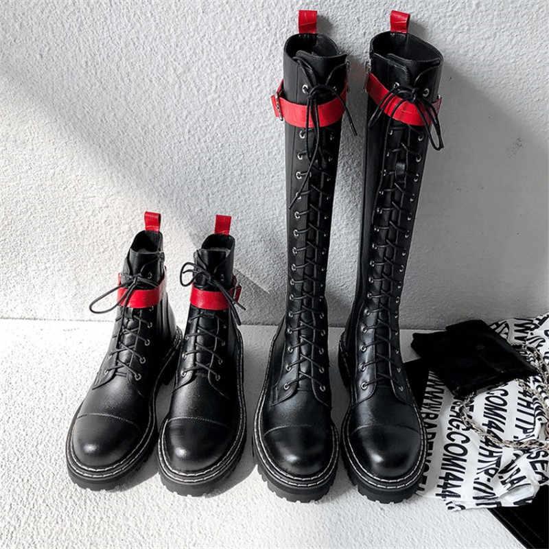 Karışık renkler hakiki deri bayanlar uzun binici çizmeleri kalite kadınlar diz yüksek çizmeler yeni parti gece kulübü ayakkabı kadın