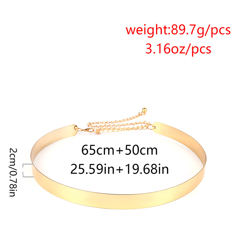 Hbde45def15ea478284025a50d072e8b8g - BLA Luxury Women Chain Belts Waistbands All-match Waist Gold Silver Multilayer Long Tassel Chain Belts For Party Jewelry Dress 3