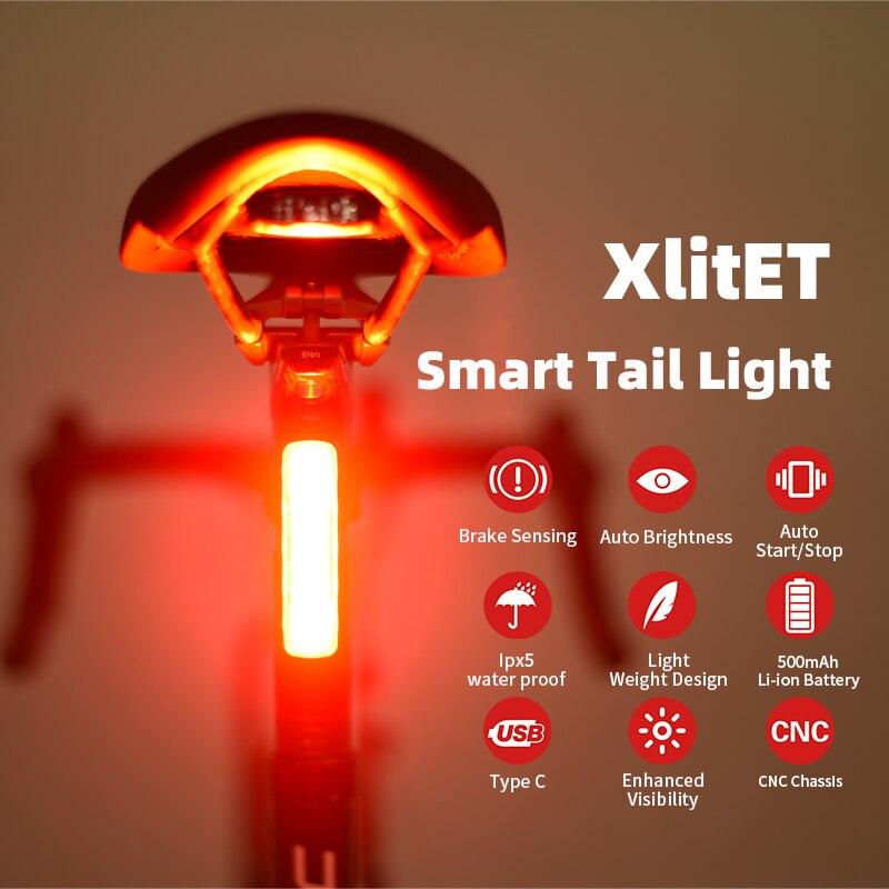 Новый enfitnix задний фонарь для велосипеда с возможностью светильник