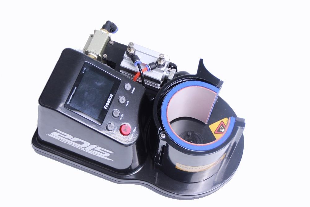 Free shipping 3D sublimation machine mug transfer machine Cup heat press machine printing machine mini automatic pneumatic Cup