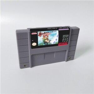 Image 2 - Chrono Trigger or Crimson ecos o llama de la eternidad o Prophets Guile tarjeta de juego RPG versión de EE. UU. Batería en inglés guardar