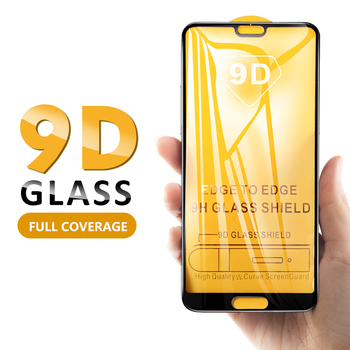 9D Curved Tempered Glass For Huawei Enjoy 7 Plus 7S 7E 8 8E 9 Plus 9S 9E Full Coverage Screen Protector Protective Film 100Pcs