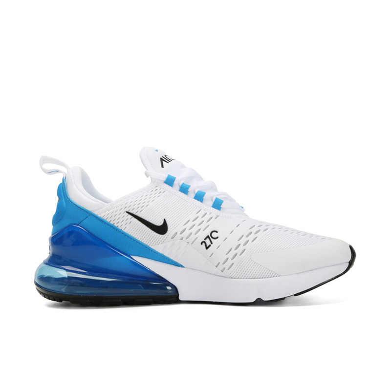 Оригинальный бренд NIKE Air Max 270 мужские кроссовки Классические спортивные дышащие удобные полноцветные массажные AH8050